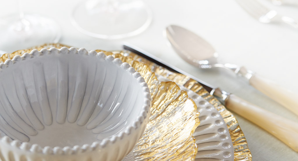 Vietri Incanto Collection - luxury dinnerware - luxury tableware
