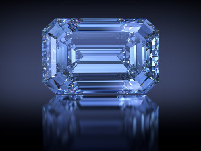 Oppenheimer Blue diamond jewelry