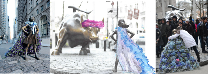 Female Statues by Lewis Miller Design
