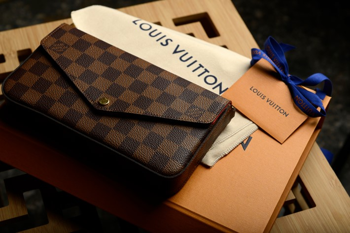 bags of luxury fashion brand Louis Vuitton