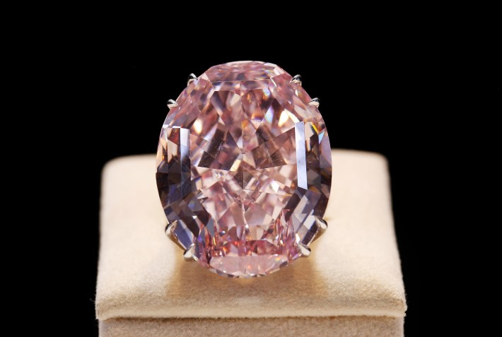 pink star diamond jewelry