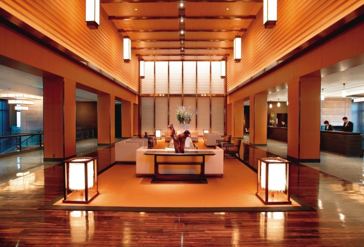 Entrance Mandarin Oriental Tokyo