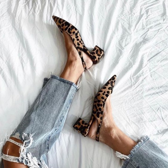 denim history: luxury shoes and denim jeans