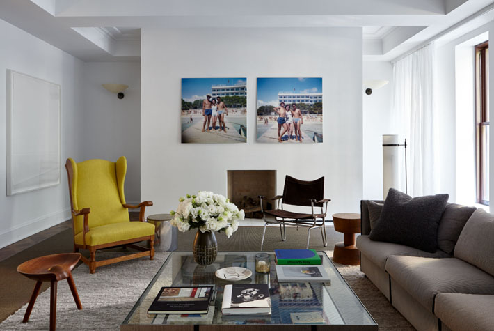 Living Room by Timothy Brown Holiday House NYC c. John McHugh