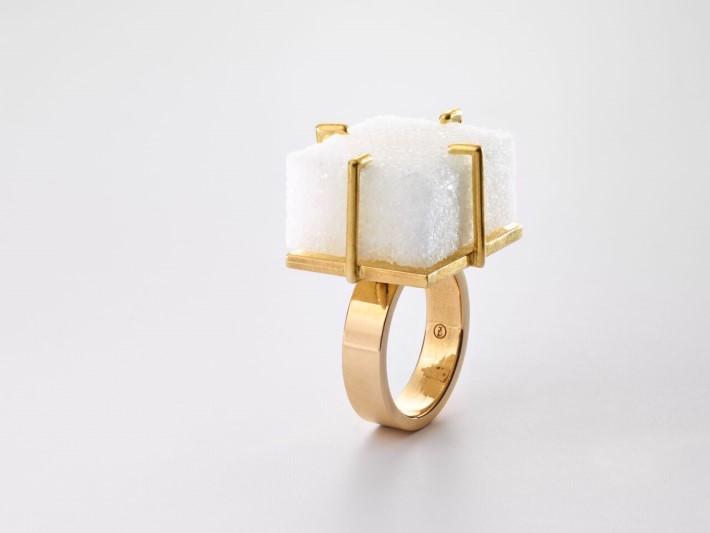 Sugar Ring by Meret Oppenheim 1936 2014 at Martina Simeti at Design Miami 2018 - Art Basel Miami 2018