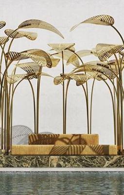 art installation by marc ange called le refuge at dubai design week 2018