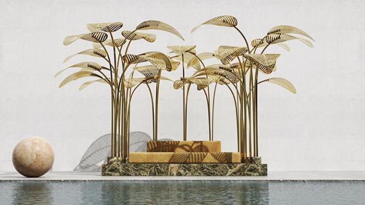 art installation by marc ange called le refuge at dubai design week 2018 - interior design events 2019