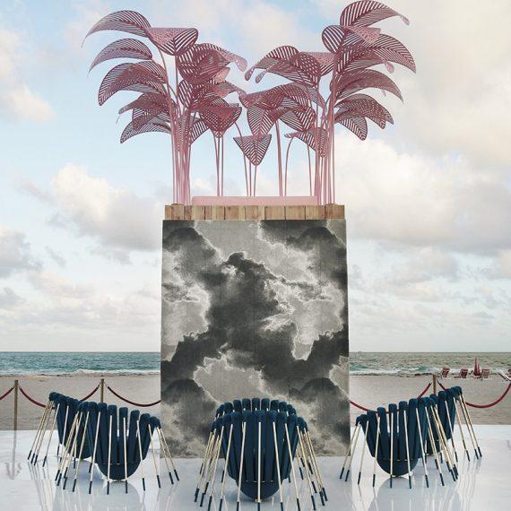 marc ange les araignees for lj edition and le refuge at fauteuils design miami 2017
