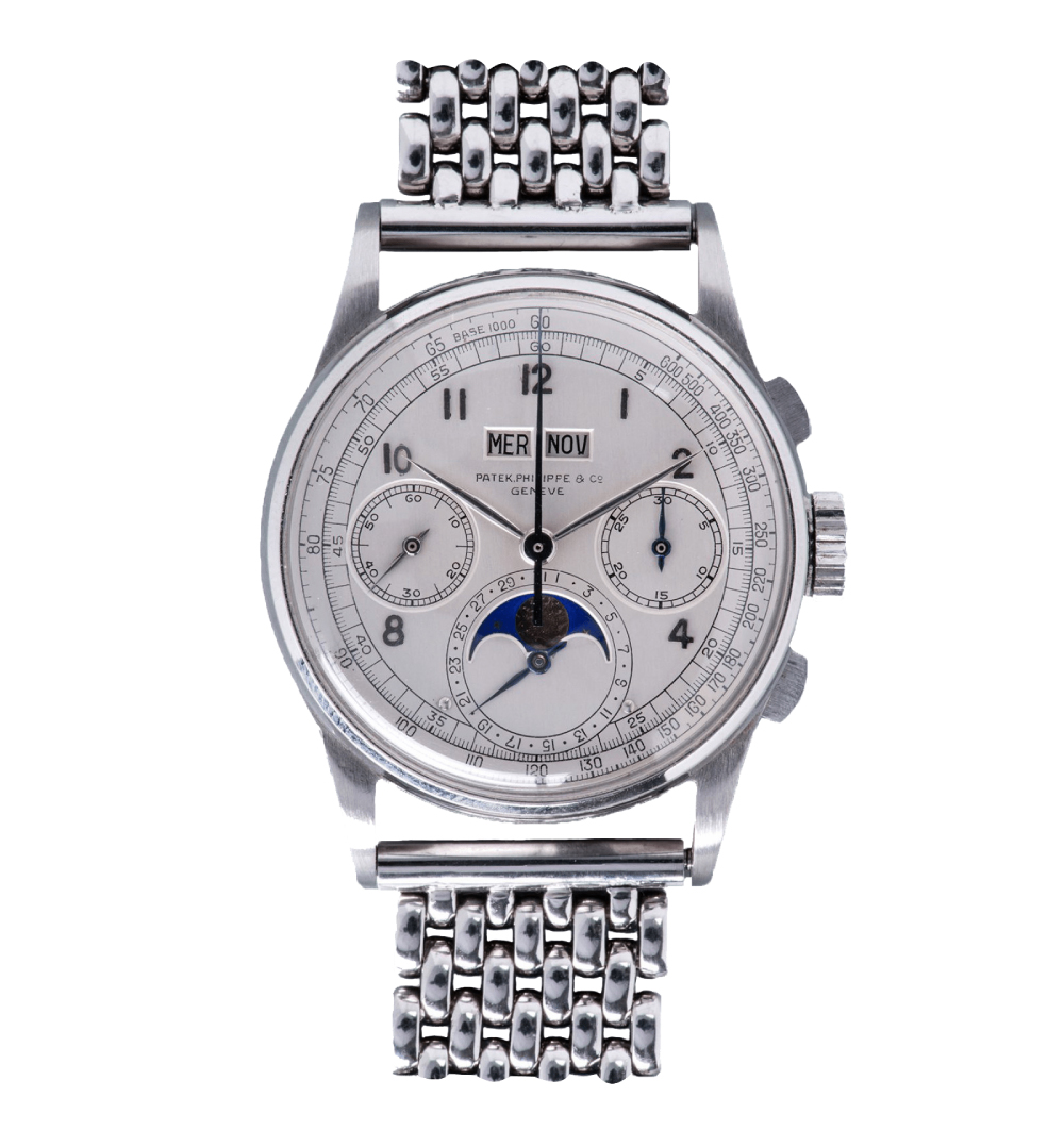 Patek Philippe Ref. 1518 in Stainless Steel - One of the Most Expensive Watches Ever Made$11 Million
