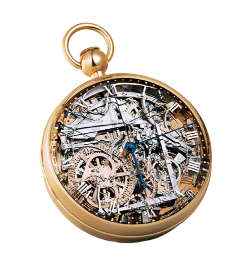 Breguet Marie-Antoinette Grande Complication Pocket Watch in brass with highly intricate visible movements - one of the Most Expensive Watches Ever Made - $30 Million