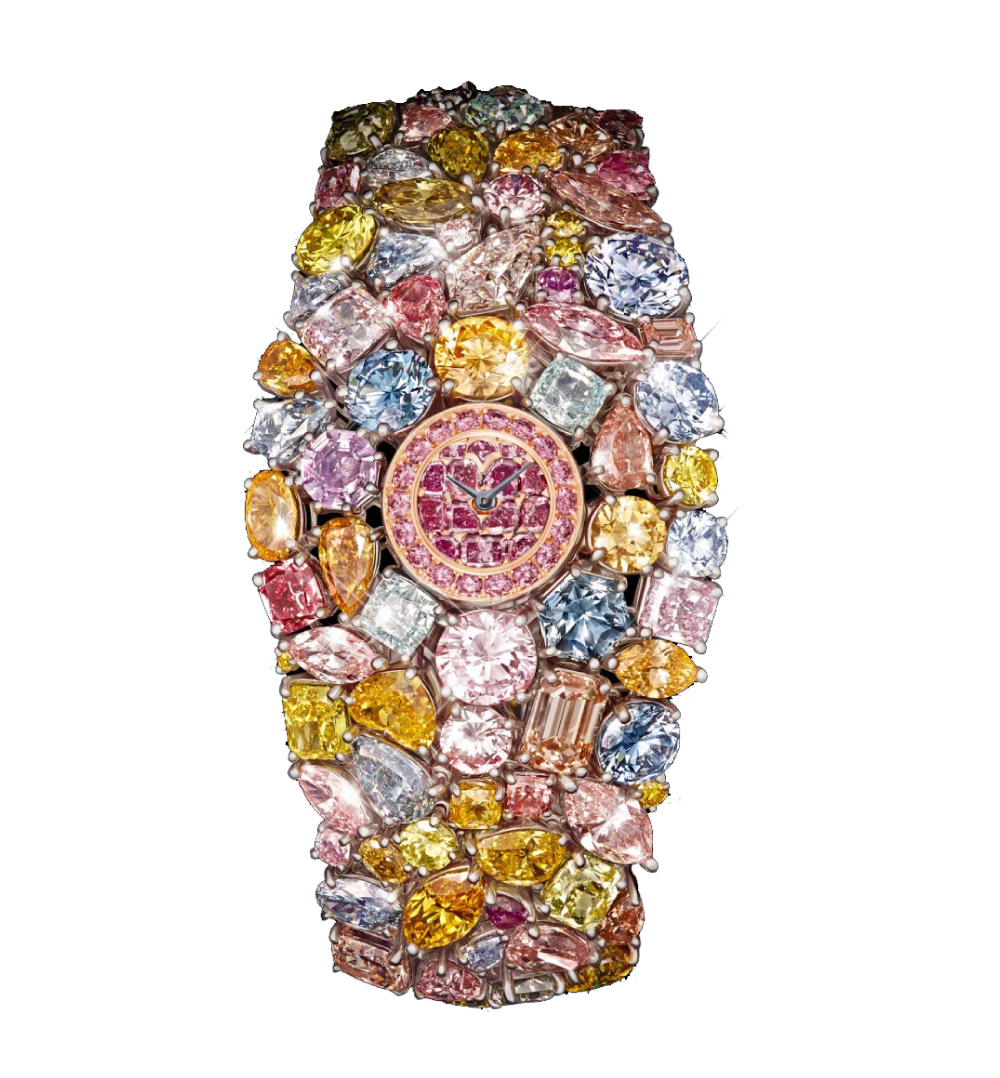 137f83da4 GRAFF DIAMONDS HALLUCINATION watch, one of the Most Expensive Watches ever  made - Covered in