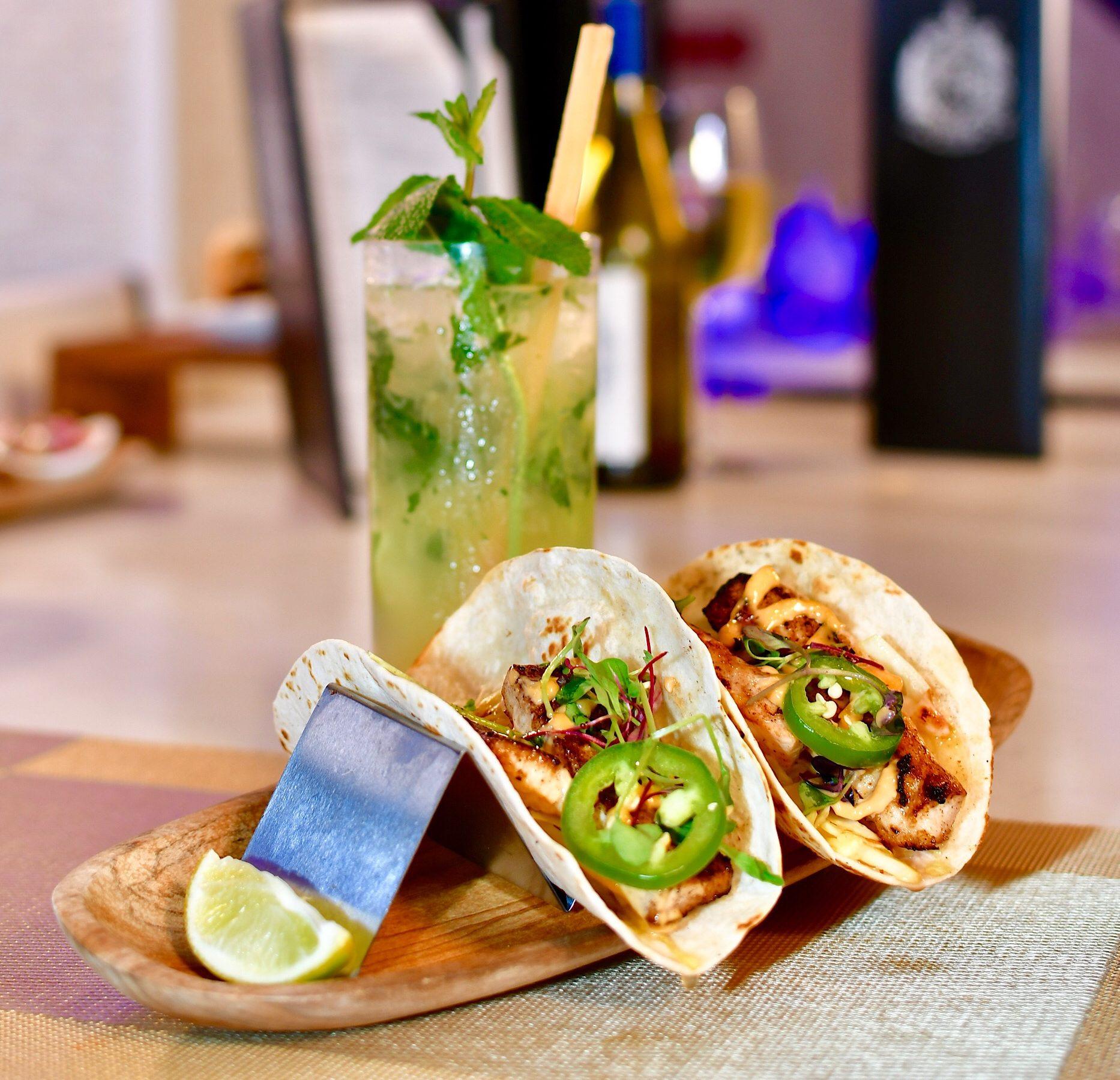 Tacos at Estefan Kitchen Miami Design District