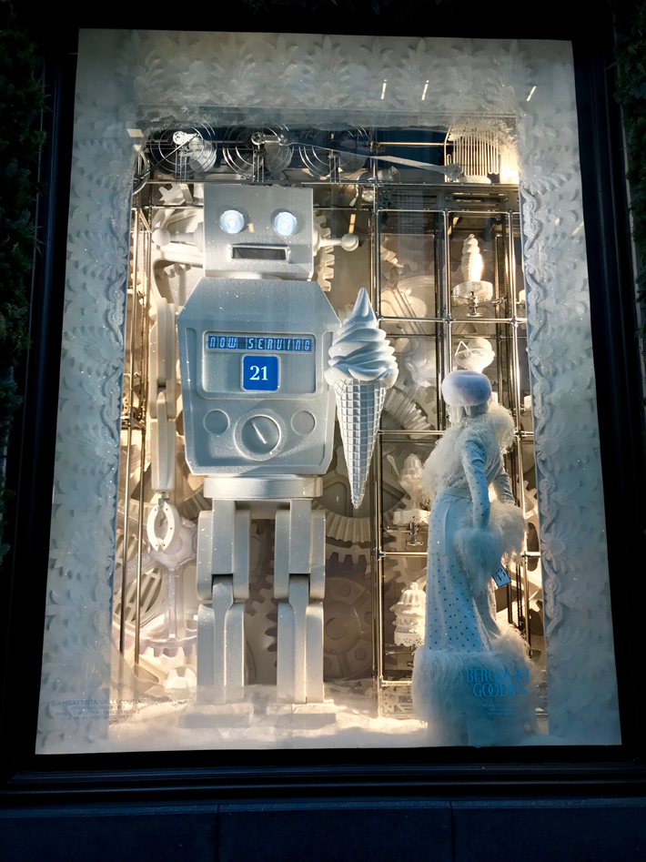 Bergdorf Goodman Windows - Bergdorf Goodies - Holiday Window Displays