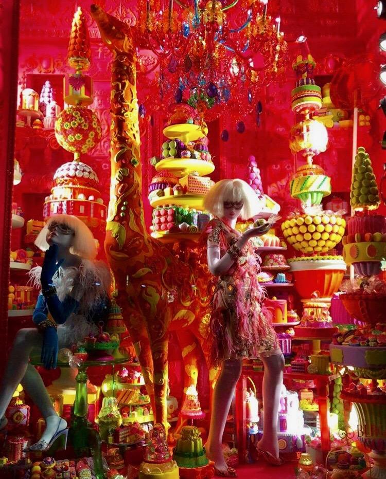 Bergdorf Goodman Windows - Bergdorf Goodies - Holiday Window Displays