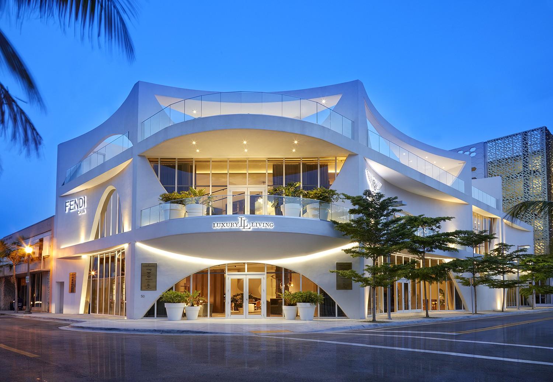 Luxury Living Showroom Miami Design District
