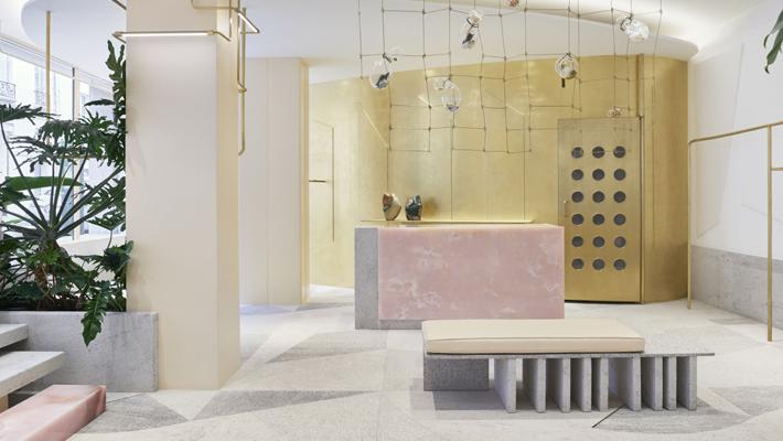 forte forte store paris retail design photo by danilo scarpati