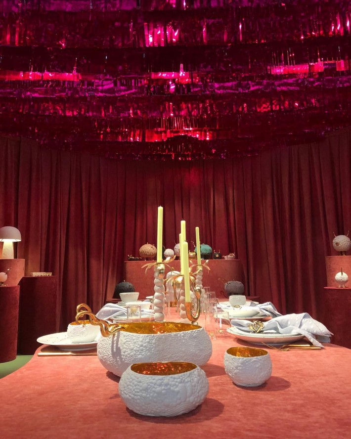 Whimsical luxury tabletop decor by The Hass Brothers x L'Objet at Maison et Objet 2019