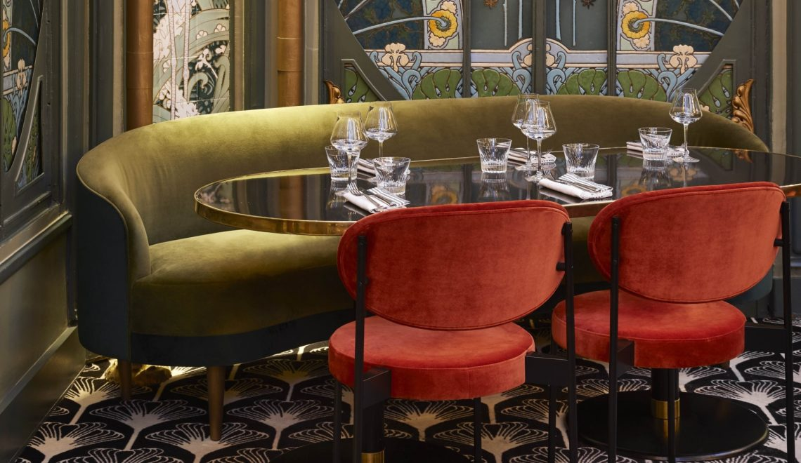Humbert & Poyet's Interior Masterpiece of Seduction and Charm at Beefbar Paris
