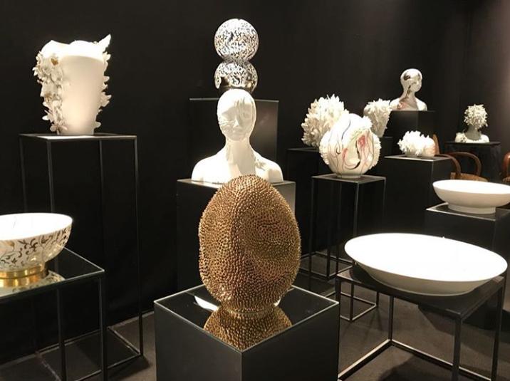 Limoges Porcelain sculptures by Juliette Clovis at Maison et Objet 2019