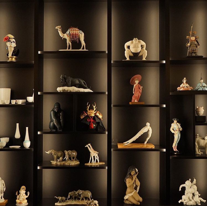 Lladro luxury porcelain tabletop decor at maison et objet 2019