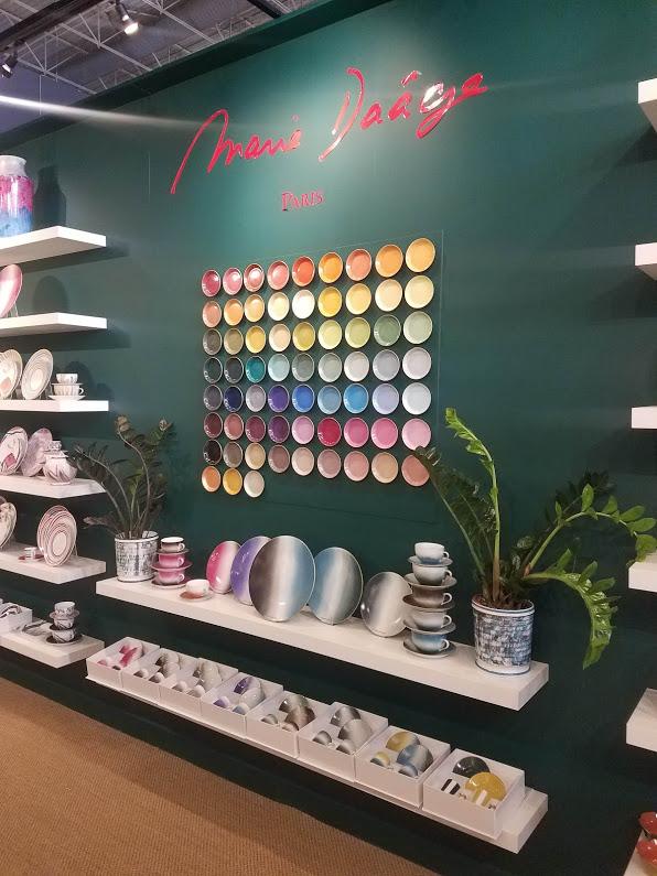 luxury limoges porcelain dinnerware by marie daage at maison et objet 2019