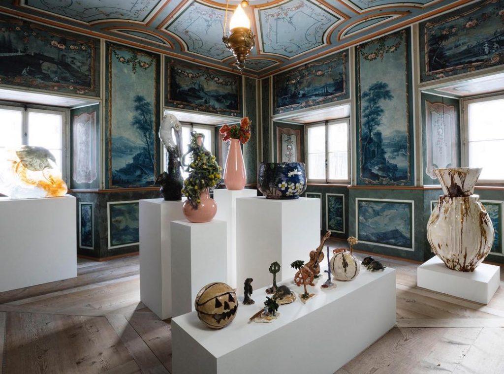 A room by Massimo De Carlo Nomad St. Moritz - Interior Design Events 2019