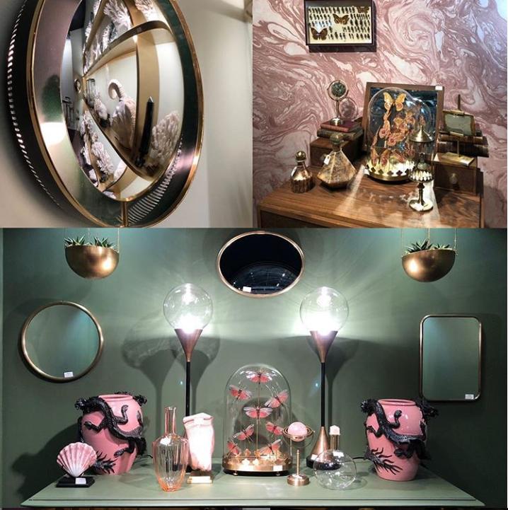 details from the objet de curiosite stand at maison et objet 2019
