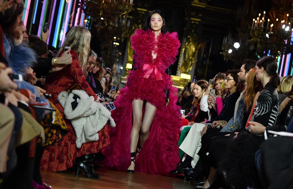 Schiaparelli Haute Couture Spring Summer 2019 - paris couture fashion week