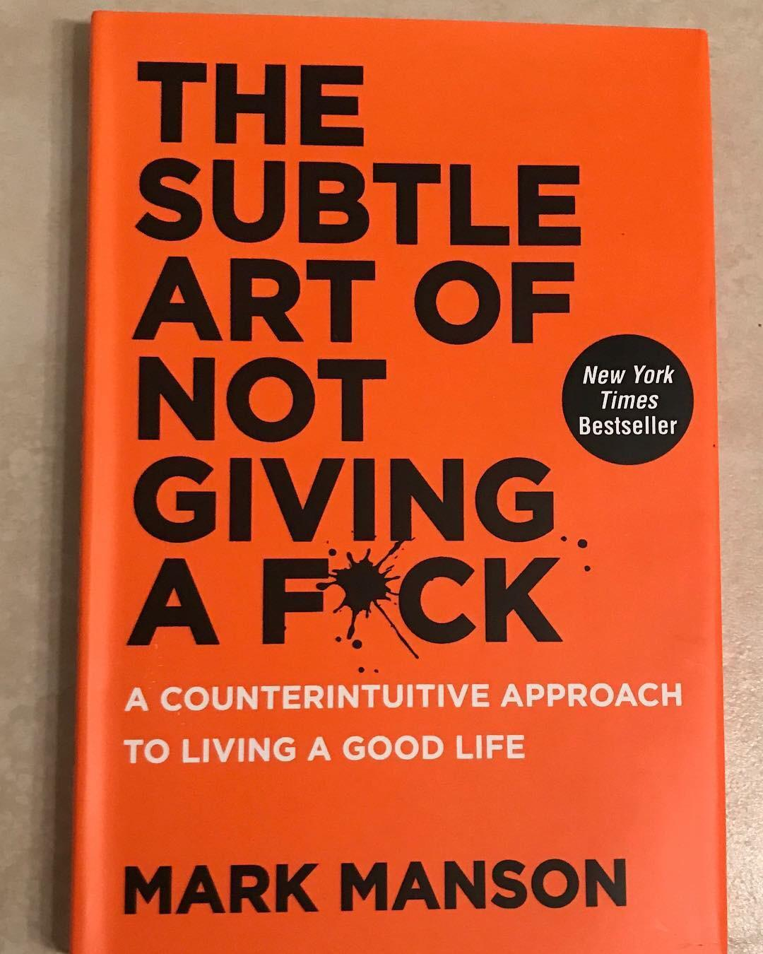 motivational quotes for women - the subtle art of not giving a fuck book cover