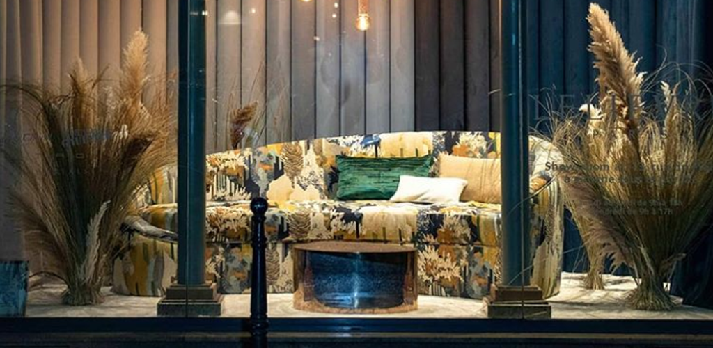 Lelievre Enchanted Paris Deco Off 2019 Attendees with Its Stunning Window Display & Beautiful Textiles