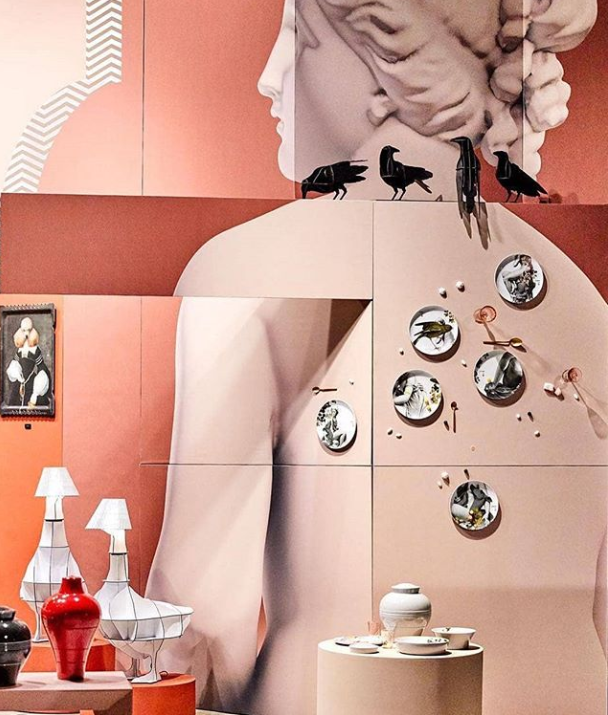 faux-semlants stackable tableware by ibride design at maison et objet 2019