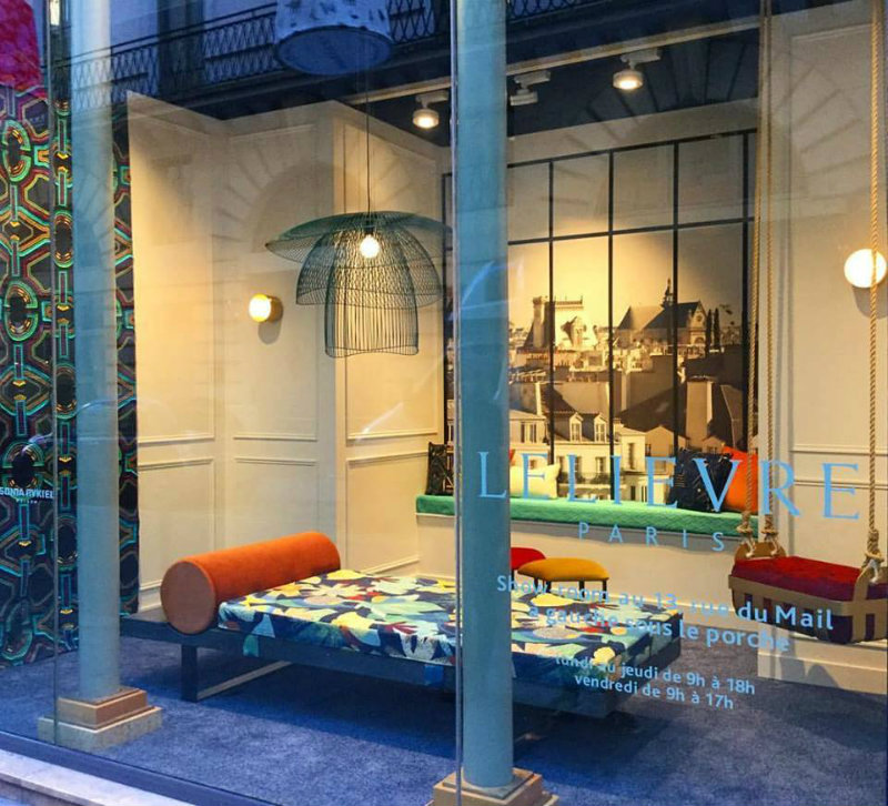 Lelièvre Paris Deco Off window display - maison & objet paris 2019