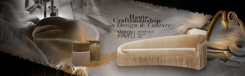koket at maison & objet paris 2019 celebrating haute craftsmanship in design and couture