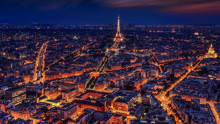 maison & objet paris 2019 - paris city view at night