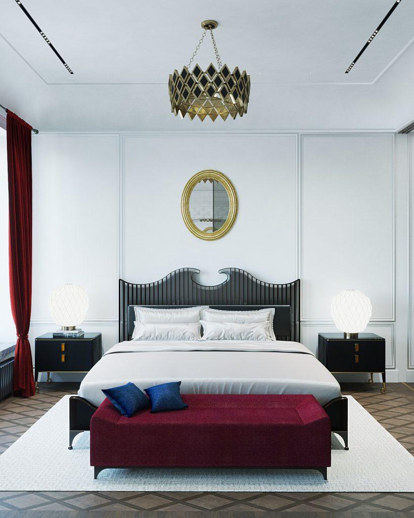 bedroom design by vadim maltsev
