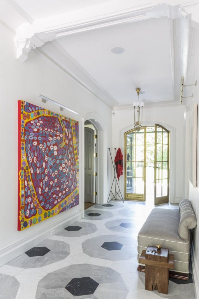 Colorful grand entryway photographed by Marco Ricca