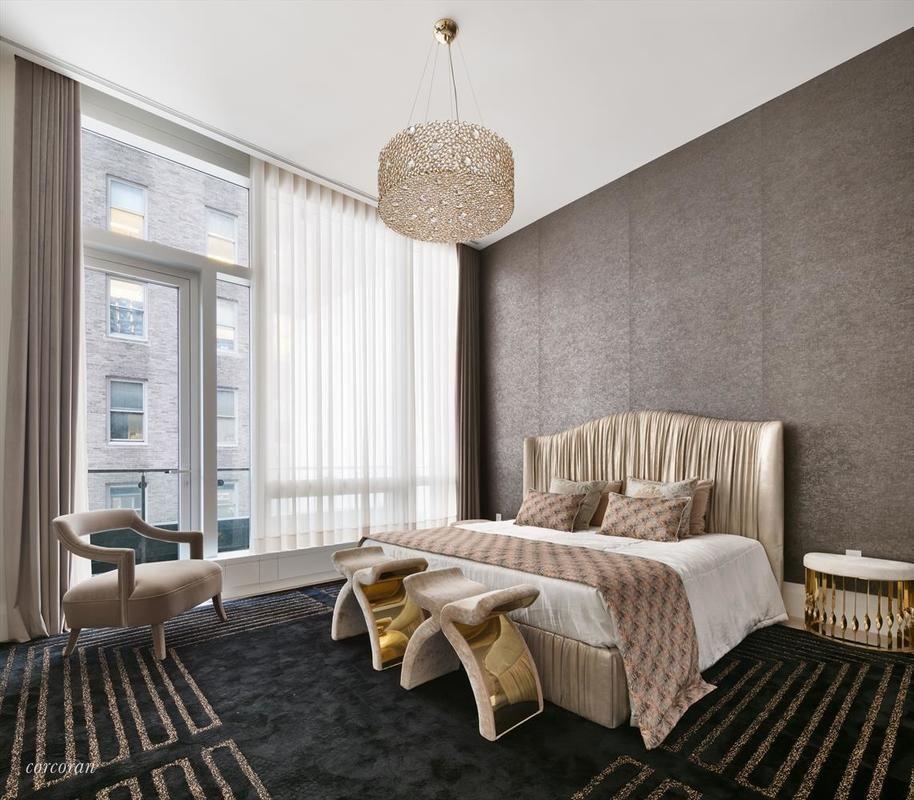 KOKET Dream Master Bedroom Design at Covet Mansion NYC