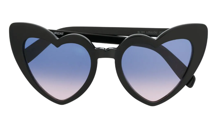 Saint Laurent Eyewear Heart Shaped Sunglasses Farfetch - Lh Valentine's Day Gift Guide - Luxurious Gifts for Her