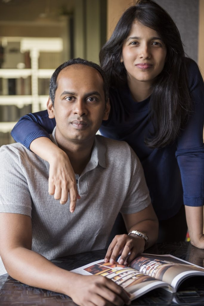 Zubin Zainuddin and Krupa Zubin the founding partners of ZZ Architects