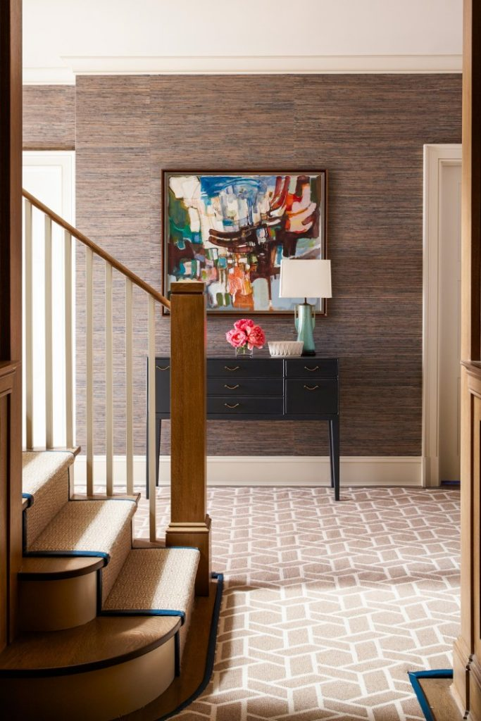 grand entryway by Mendelson Group