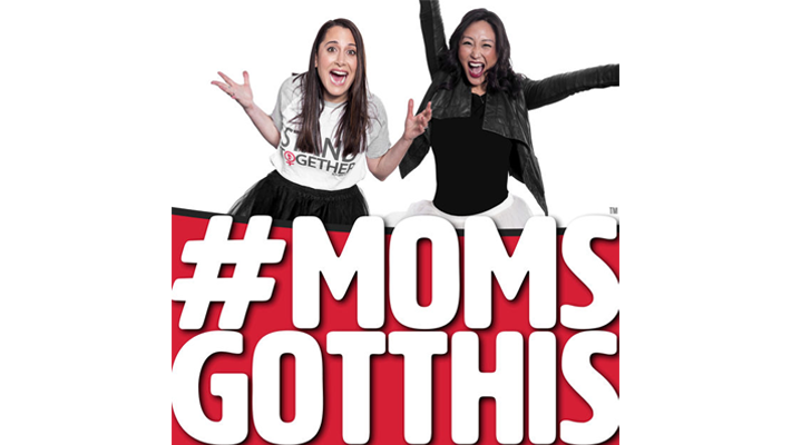 #momsgotthis podcast hosted by stacy igel and michelle park - best podcasts for women