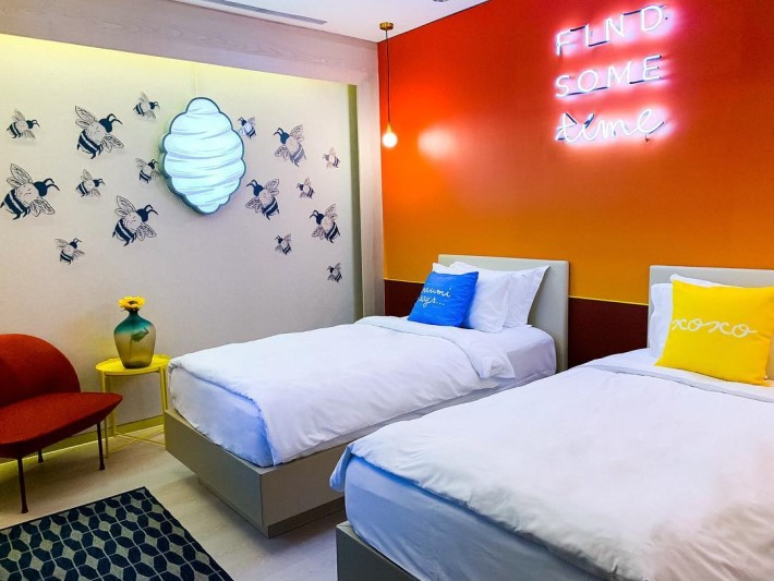 The first room designed in Naumi Hotels for Singapore Design Week