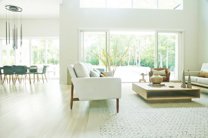living room Interior design by Anishka Clarke of Ishka Designs - celebrating women's history month with top female interior designers