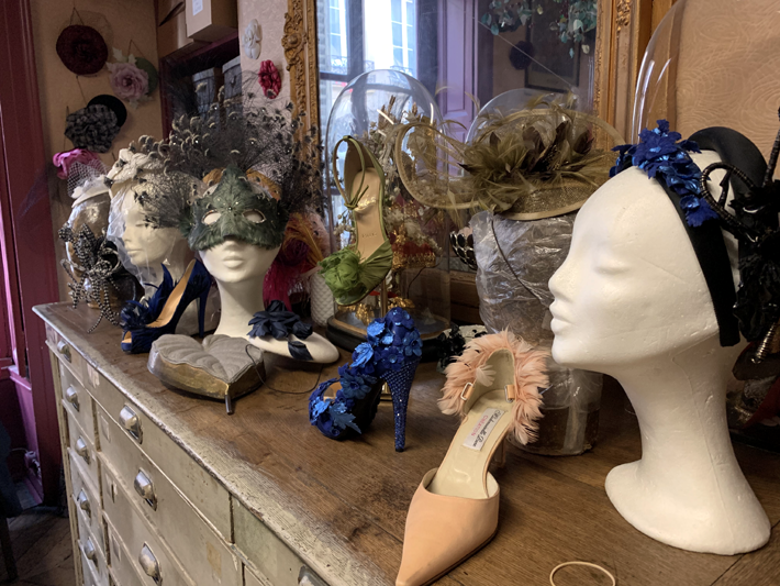 creations by ets legeron on behind the scenes tour with Le Connoisseur