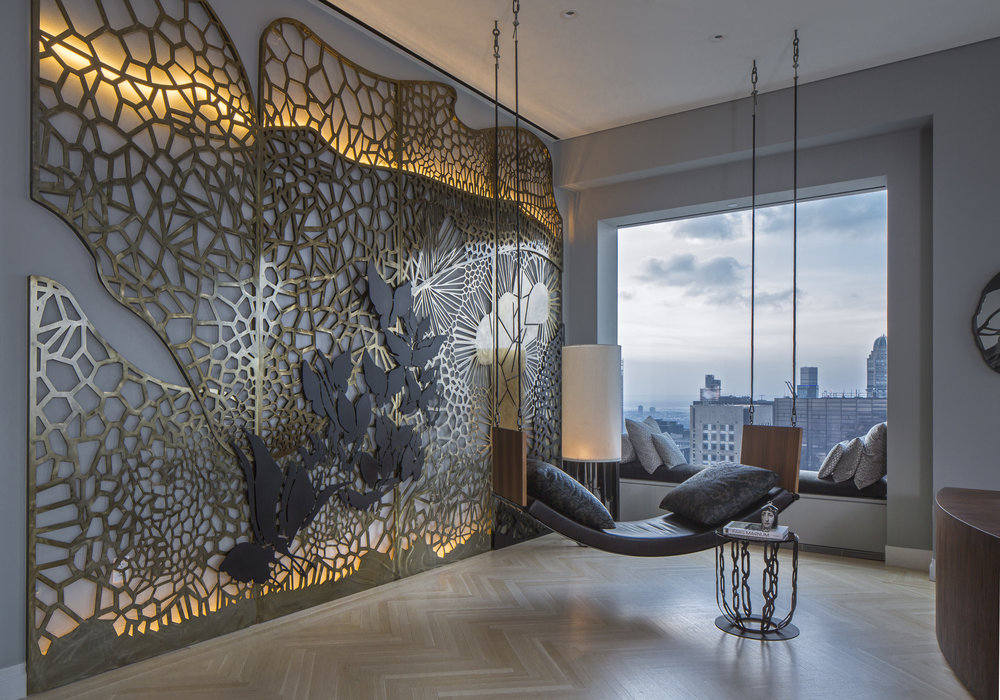 penthouse interior design and architecture by Gulla Jónsdóttir - celebrating women's history month with top female interior designers