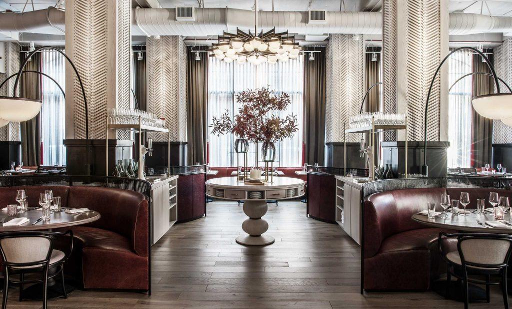 bellemore restaurant interior design by karen herold studio k creative - celebrating women's history month with top female interior designers