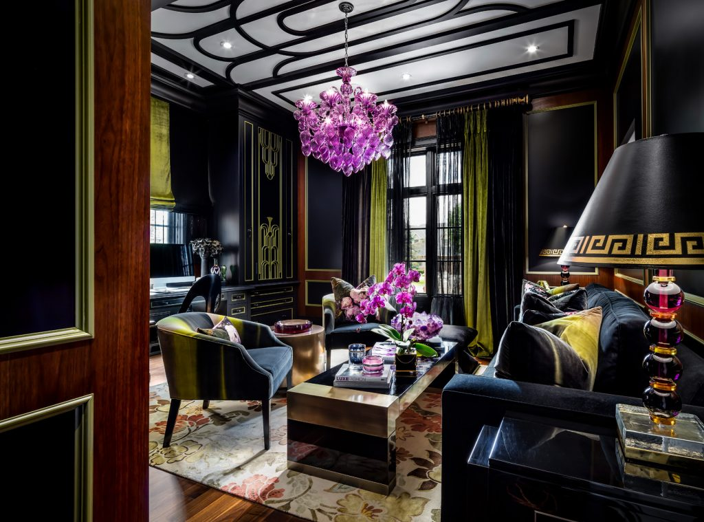 luxurious living room design by lori morris - celebrating women's history month with top female interior designers