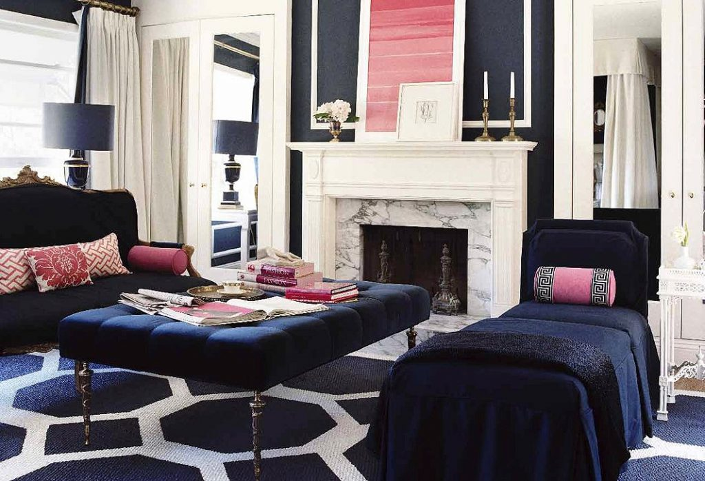 living room interior design by mary mcdonald - celebrating women's history month with top female interior designers