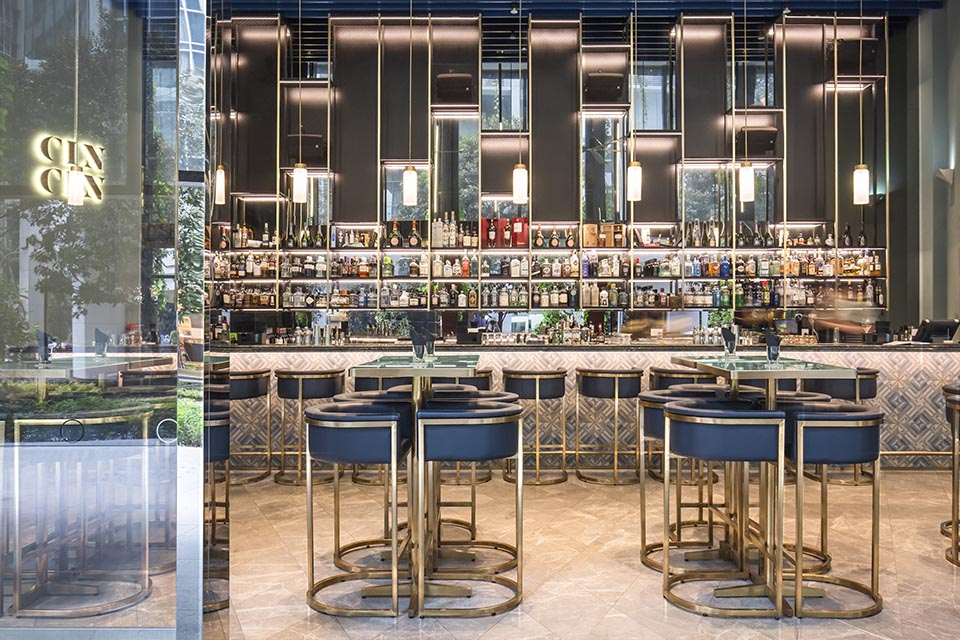 Oasia Restaurant designed by Patricia Urquiola - celebrating women's history month with top female interior designers