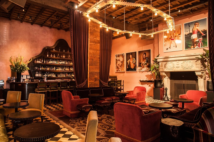 rose bar at gramercy park hotel in new york city - a top boutique hotel in nyc
